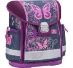 Belmil Classy Purple Flying Butterfly - ergonómikus iskolatáska (403-13-PF)