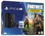Sony PlayStation 4 Pro Jet Black (PS4 Pro 1TB) + Fortnite Játékkonzol