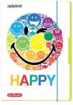Herlitz Smiley Rainbow gumis mappa A3 (50001682)