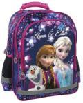 DERFORM Jégvarázs: Anna & Elsa - ergonómikus iskolatáska, hátizsák (PL15BKL22)