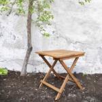 SOMERSET összecsukható kisasztal 50x50x50cm
