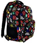 ST.RIGHT Badges BP-26 - 3 rekeszes iskolatáska hátizsák (612916)