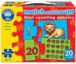 Orchard Toys Puzzle Potriveste si numara de la 1 la 20 MATCH AND COUNT (OR219) - dmkids