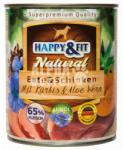 Happy&Fit Natural Ente & Schinken Mit Kürbis & Aloe Vera 800g