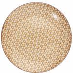 RETRO tányér sárga 20.3cm