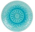 SUMATRA tányér 14cm türkiz