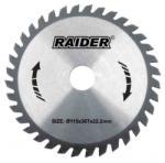 Raider Диск за циркуляр Ø 190х80Тх20 мм rd-sb30 raider