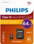 Philips microSDXC 64GB Class 10 PH602646