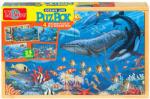 Creative Kids Élet az óceánban fa puzzle 4 az 1-ben (991)