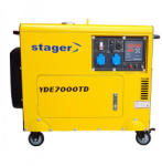 Stager YDE7000TD Generator