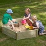 TP Toys TP Toys-Lada de nisip Castlewood Sandpit + Husa (TP-342&346)