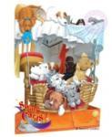 Jad Flamande Felicitare 3D Catei in cosulet-Swing Cards (SC099)