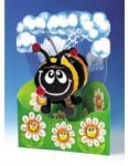 Jad Flamande Felicitare 3D Albinuta-Swing Cards (SC028)