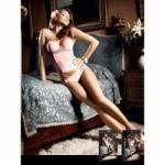 BACI Microfiber Bustier with Lace (sw-44113805)