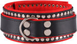 Dominate Me Leather Collar D35 Deluxe Black-Red
