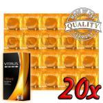 Vitalis Ribbed 20 pack
