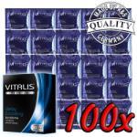 Vitalis Delay & Cooling 100 pack