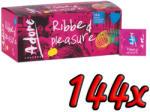 Pasante Adore Ribbed Pleasure 144 pack