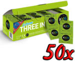 EXS Condoms Extreme 3in1 50 pack