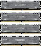 Crucial Ballistix Sport LT 64GB (4x16GB) DDR4 2400MHz BLS4C16G4D240FSB