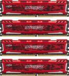 Crucial Ballistix Sport 64GB (4x16GB) DDR4 2400MHz BLS4C16G4D240FSE