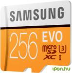 Samsung MicroSDXC EVO 256GB C10/UHS-I/U3 MB-MP256GA/EU