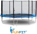 FunFit Trambulina 252cm scarita inclusa si plasa laterala cu fermoar