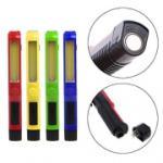 Bl-209 - работен фенер тип химикалка с 2 светлини и магнит