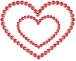 Bijoux indiscrets Бижута за гърди Mimi Heart (sw-70020)