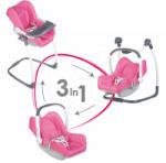 Smoby Maxi Cosi & Quinny-Set 3in1 scaun de masă, scaun de maşină şi leagăn (240226)