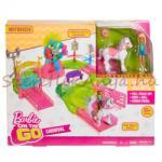 Mattel Barbie - On The Go - Baba pónival