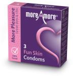 MoreAmore Condom Fun Skin 3 pcs