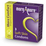 MoreAmore Condom Soft Skin 3 pcs