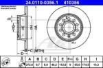 ATE Disc frana SKODA OCTAVIA II Combi (1Z5) (2004 - 2013) ATE 24.0110-0356.1