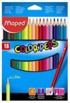 Maped COLOR`PEPS színes ceruza 18db