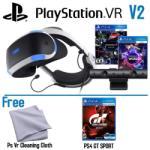 Sony PlayStation VR V2 + Worlds + Camera + Gran Turismo Sport
