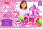 Melissa & Doug Pink palota 3D puzzle (9462)