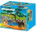 Playmobil Bivaly és zebrák az itatónál (4828)