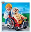 Playmobil Nagypapa tolószékben (4226)