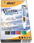 BIC MARKER VELLEDA PENTRU WHITEBOARD, 4 buc/set (470610)