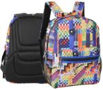 Herlitz Rucsac Colorful checkered (9465320)