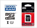 GOODRAM microSDHC 16GB UHS-I/U1/C10 GR-019