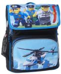 LEGO Ghiozdan Scoala Recruiter City Police Chopper (LG-20069-1835)
