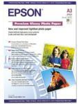 Epson Hartie foto Premium lucioasa A3, 20 coli (C13S041315) - vexio