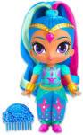 Fisher-Price Shimmer és Shine - Shine baba szivárvány hajjal, kék ruhában