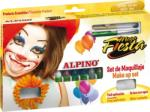 Alpino Set machiaj ALPINO Carnival - 6 culori x 5 gr + accesorii (MS-DL000008)