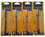 Molin Marker pentru tatuaje, varf subtire tip pensula, corp plastic, MOLIN - negru (ML-RTE280-TT-9)