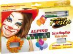 Alpino Creioane machiaj, 12 culori/cutie, ALPINO Mega Fiesta (MS-DL000012) - viamond