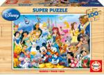 Educa Minunata Lume Disney 100 (12002) Puzzle