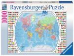 Ravensburger Harta Politica a Lumii (1000) Puzzle